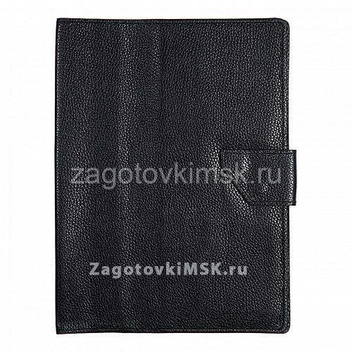Папка для хранения семейных документов ЧЕРНЫЙ ФЛОТЕР(нат.кожа)