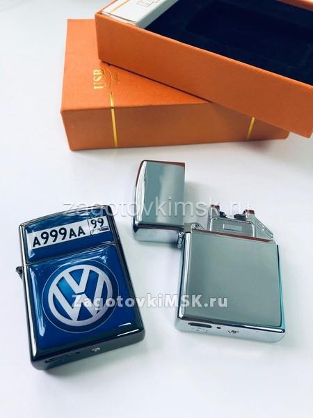 Premium USB электронная зажигалка в комплекте 2 линзы и подарочная упаковка