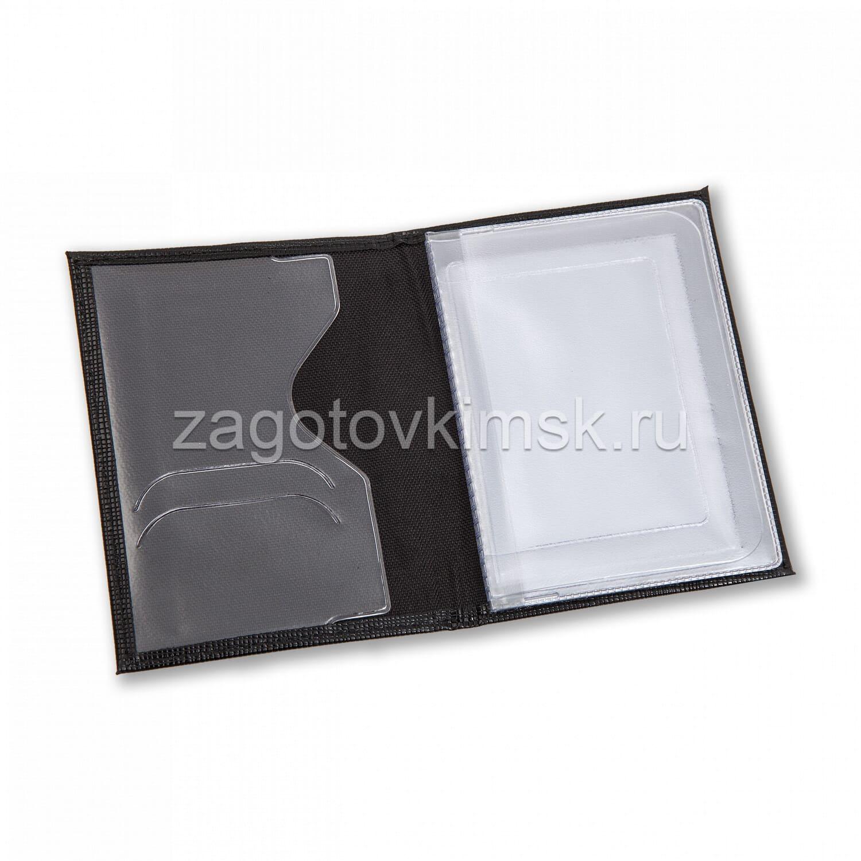 Обложка из кожи бренд Furla цвет черный